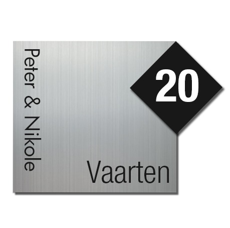 Serie Piazza-Line Zwart